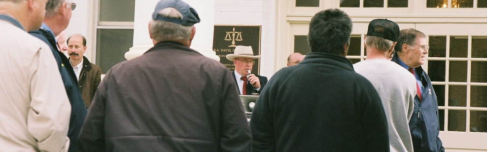 Col. tom Wolfe Real Estate Auctions