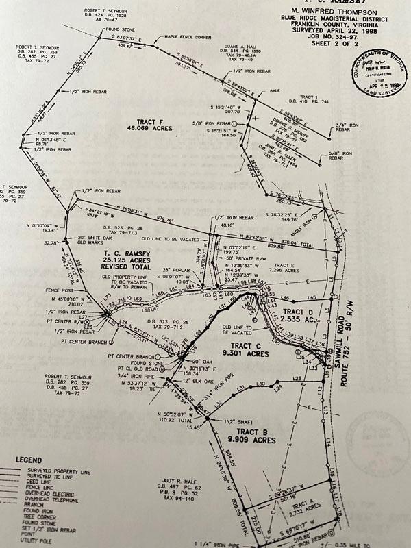 Sawmill Road Land for sale Ferrum, VA